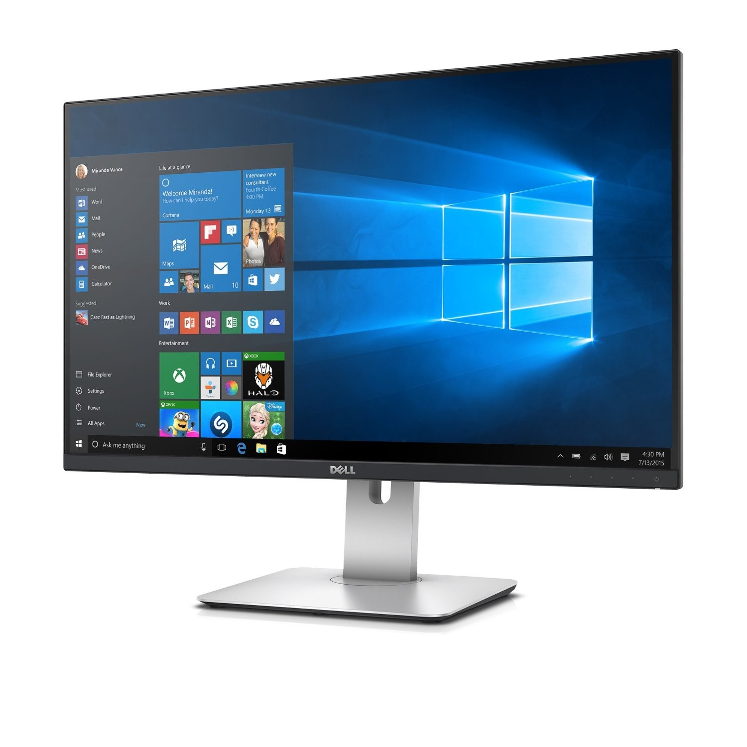 WQHD монитор Dell UltraSharp U2715H