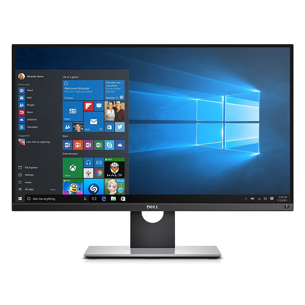 WQHD монитор Dell UltraSharp UP2716D