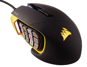 Corsair Gaming™ Scimitar PRO RGB Yellow-Black